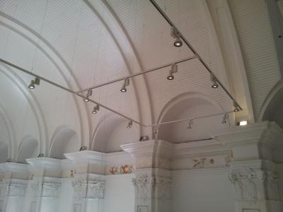 Reforma de la antigua iglesia de la Santa Cruz para la Sección de Arte del Museo de Cuenca