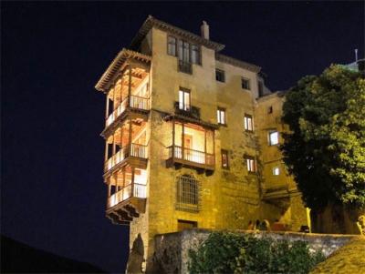 Renovación de la iluminación de las Casas Colgadas