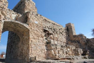 Restauración de los lienzos del Castillo de Cuenca