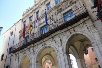 Iluminación de la fachada del Ayuntamiento