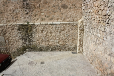 Desviación de la red de saneamiento de la Casa del Corregidor
