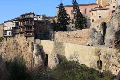 Restauración de muro de subida a las Casas Colgadas