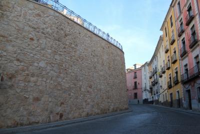 Reconstrucción del muro de Alfonso VIII