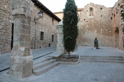 Reparación de las ruinas de Iglesia de San Pantaleón.