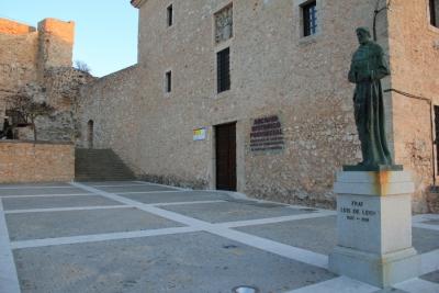 Reparación del atrio del Archivo Histórico Provincial