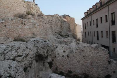 Restauración de la Muralla del Alcázar de Cuenca