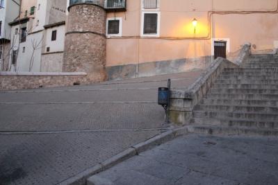 Restauración de la rampa escalonada de las escalerillas del Gallo