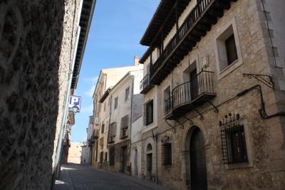 Ocultamiento de cables en la calle San Pedro