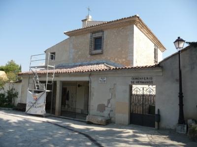 Rehabilitación de fachadas de la Ermita-Cementerio de San Isidro