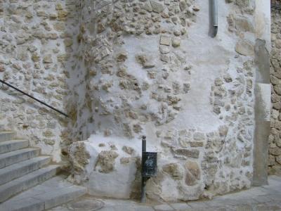 Restauración del torreón de la muralla