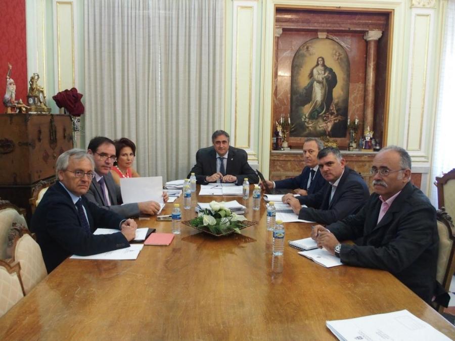 Reunión de la Comisión Ejecutiva el pasado jueves 7 de septiembre