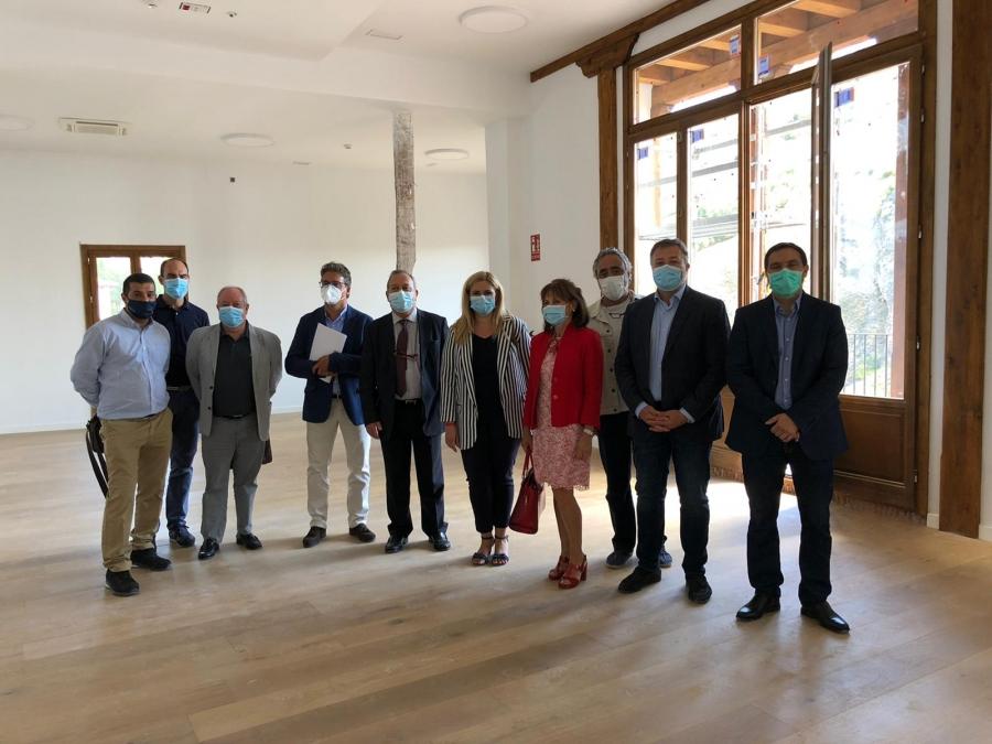 La Comisión Ejecutiva visita las obras de la Casa del Corregidor
