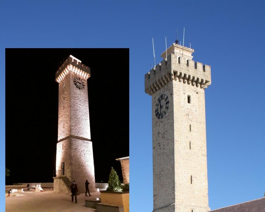 Recibidas las obras de la Torre de Mangana y Acondicionamiento de senderos del casco antiguo