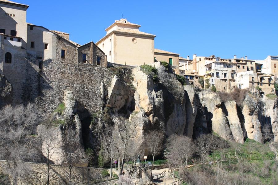 Imagen de la noticia Comienza la obra de Intervención sobre los paños de muralla de las traseras de la Catedral de Cuenca