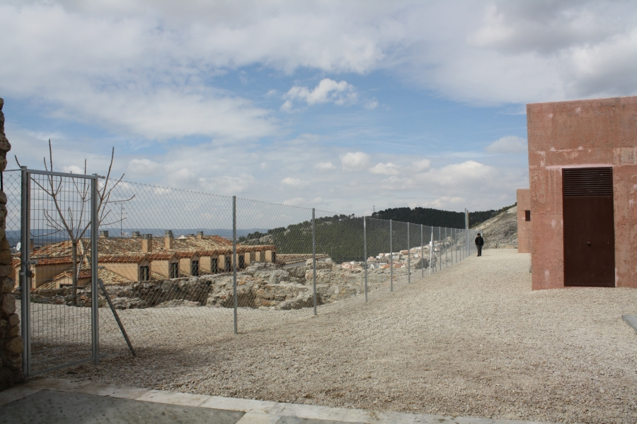 Licitadas las obras de Rehabilitación de los restos arqueológicos intramuros de la muralla del Alcázar