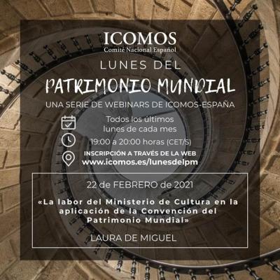 Imagen de la noticia El Consorcio participa en la 2ª webinar de ICOMOS-ESPAÑA