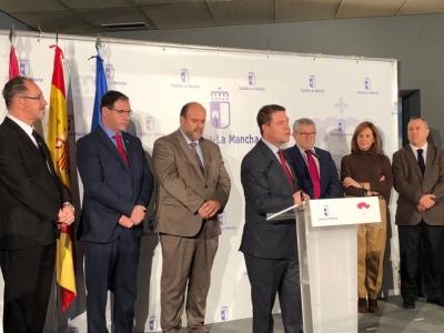 El presidente de Castilla-La Mancha inaugura la tercera fase del Museo de Paleontología de Castilla-La Mancha
