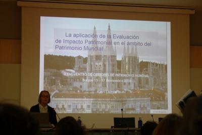 El Consorcio asiste al X Encuentro de Gestores de Patrimonio Mundial en España celebrado en Burgos