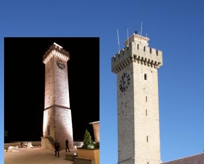 Imagen de la noticia Recibidas las obras de la Torre de Mangana y Acondicionamiento de senderos del casco antiguo