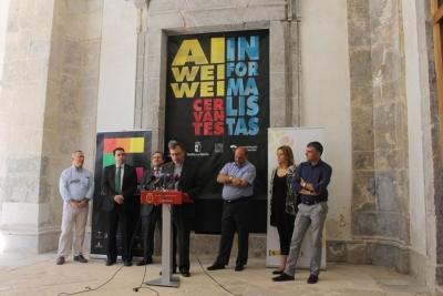 Presentada a la prensa la proyección del videomapping en la fachada de la Catedral