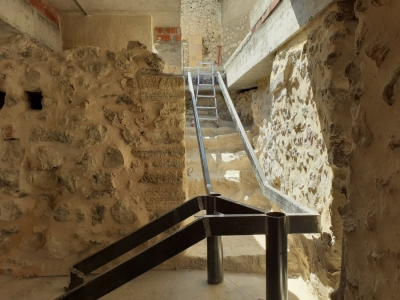Restos murallas del Alcázar